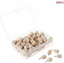 RG-FA Wooden Thumbtack Board Pins Pushpins Drawing