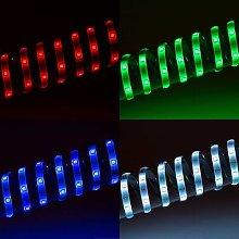 RGB LED strip WiFi, 500 cm, with remote control