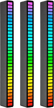 RGB Sound Control Rhythm Lights 3 PCS 32 LED 18
