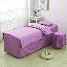 RGERG Professional massage bed linen, simple
