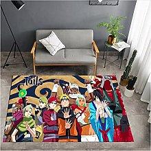 RGHJH Anime Hatake Kakashi Floor Rug Doormat
