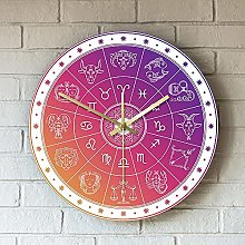Rgzqrq Abstract astronomical wall clock acrylic