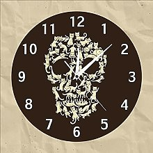 Rgzqrq acrylic cat fashion wall clock with various