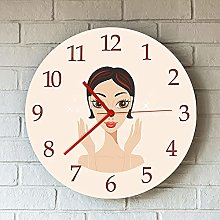 Rgzqrq Acrylic round wall clock is suitable for