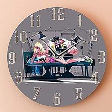 Rgzqrq Modern design mute wall clock wall clock