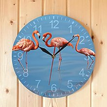 Rgzqrq Summer flamingo artist home decoration pink
