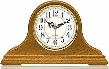 RH-ZTGY Mantel Clocks, Wood Mantle Clock with