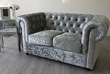 Rhea 2 Seater Chesterfield Sofa Rosdorf Park