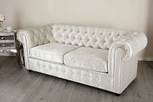 Rhea 3 Seater Chesterfield Sofa Rosdorf Park