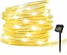 RHG Solar String Lights Outdoor Rope Lights, Solar