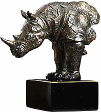 Rhino Statues and Sculptures Home Decor, Animal