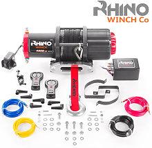Rhino Winch - Electric Winch 12v, 4,500lb / 2040Kg
