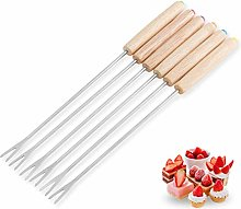 RHNE Stainless Steel Chocolate Fork Hot Pot Forks