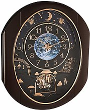 Rhythm Clocks 4MH428WU06 Wall Clock, Black