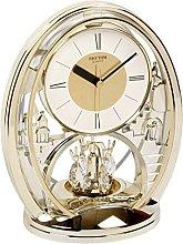 Rhythm Gilt Anniversary Clock Pendulum Mantel