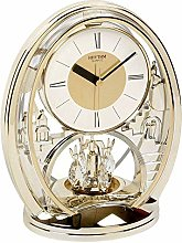 Rhythm Indoor Oval Mantel Anniversary Clock with