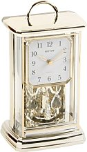 RHYTHM Modern Anniversary Mantel Clock with