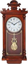Rhythm Ornate Wooden Pendulum Clock - Westminster