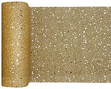 RIBBON WRITER Gold Ultra glitter polyester table