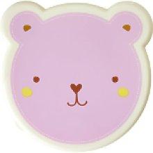 rice - Animal Lunch Box Set - BLUE - Pink/Blue