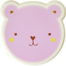 rice - Animal Lunch Box Set - PINK - Pink/Blue