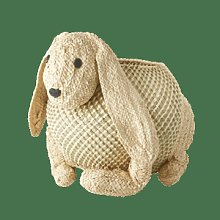 rice - Bunny Storage Basket - Woven - seagrass |
