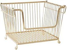 Rice by Rice - Large Wire Storage Basket - one
