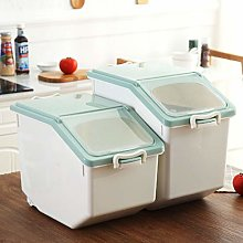 Rice Container, OVERWELL 2Pcs Rice Storage