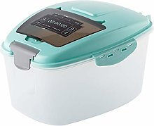 Rice Container, OVERWELL 7L Rice Storage