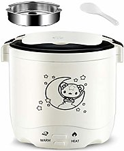 Rice Cooker Mini with Steamer Slow Cooker and Food