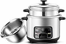 Rice Cooker, Multicooker with Steamer Basket, 2-5
