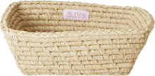 rice - Natural Rectangular Raffia Bread Basket