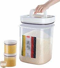 Rice Storage Container, Airtight Rice Bucket