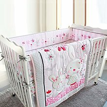 Rich-home Baby bedding set girls bedding four sets