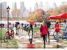 Richard Macneil - In Central Park New York Print