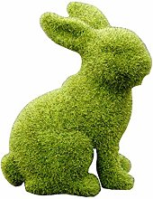 RichesY Artificial Plant Green Easter Rabbit