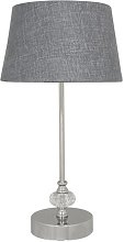 Richey 44cm Table Lamp Mercury Row Shade Colour: