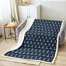 richhome Anchor Printed Tablecloth Gray Stripes