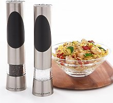 Richmond Electric Salt & Pepper Mill Set Symple
