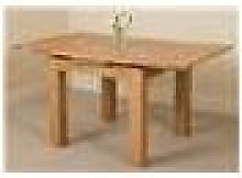 Richmond Small Solid Oak Extending Table