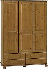 Richmond Steens Solid Pine 3 Door 4 Drawer Triple
