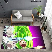 Rick And Morty Anime Cartoon Living Room Bedroom