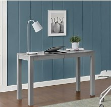 Rickard Desk Zipcode Design Finish: Grey
