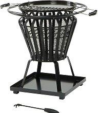 Ricky Fire Basket Belfry Heating