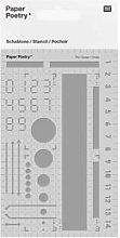 Rico Design - Plastic Bullet Journal Template Basic