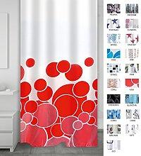 Ridder 403076 Shower Curtain, textile 180 x 200