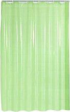 RIDDER Shower Curtain, 100% Polyethylene,