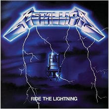 Ride The Lightning Canvas Print (One Size)