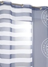 RideauDiscount Net Curtain With Maritime Design