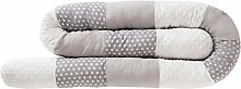 Ridecle Baby Bed Bolster 250 cm x 12 cm Bedding